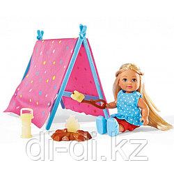 Кукла Еви в кемпинге