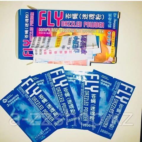 """Женский порошок для возбуждения - """"Fly dazzled powder"""" 16 шт"""