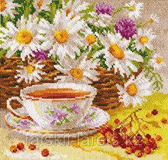 """Набор для вышивания крестиком """"Полуденный чай """" 5-13"""