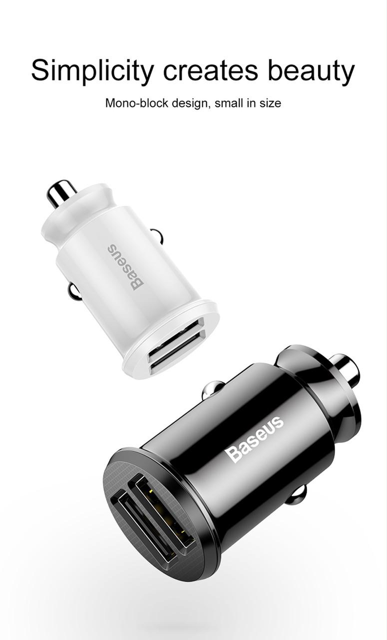 Автомобильная USB зарядка BASEUS