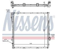 NISSENS Радиатор, охлаждение двигателя BMW X5 E53 3.0-4.4 (AT) 60788A