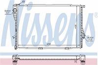 NISSENS Радиатор, охлаждение двигателя BMW 5 E39, 7 E38 60648A