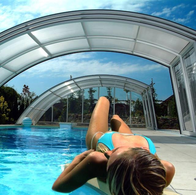 Европейские павильоны для бассейнов