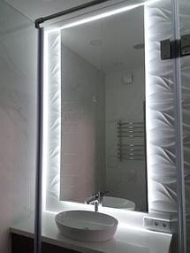 Зеркало с подсветкой в ванную 1