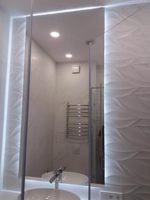 Зеркало с подсветкой в ванную 2