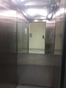 Зеркало в лифт 1