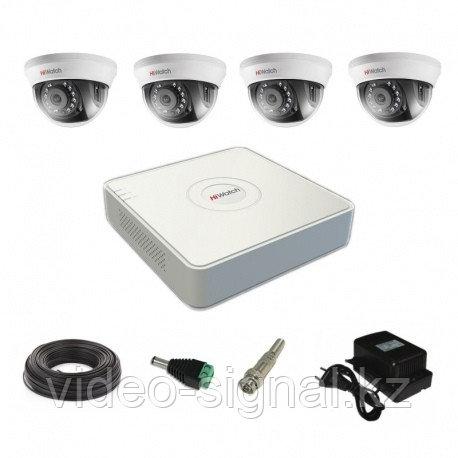 Комплект системы видеонаблюдения на 4 камеры