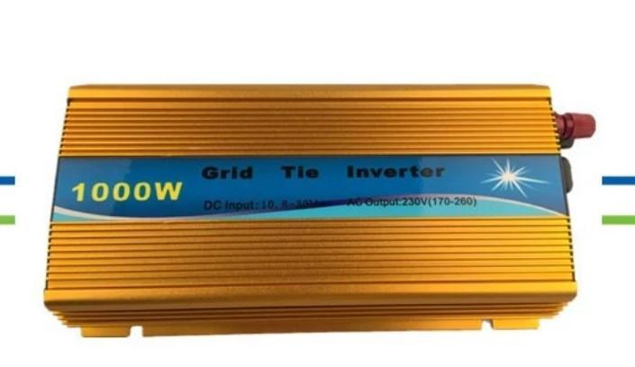 Высокое качество! 1kw Солнечная на сетке галстук инвертора 1000 Вт Goldon цвет, фото 2