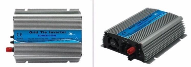 На сетке галстук инвертора микро Control Инвертор 200 Вт