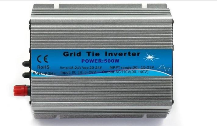 500 Вт постоянного тока для солнечной системы PV панели сетки связали инвертор/инвертор солнечной системы, фото 2
