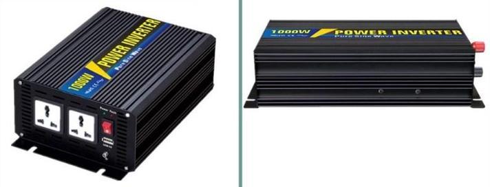1000 Вт 12Vdc к 220vac инвертор электрических транспортных средств чистого синуса, фото 2