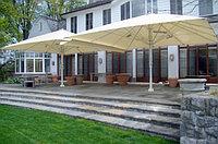 Зонт для кафе и летних площадок Леон 5х5 квадратный
