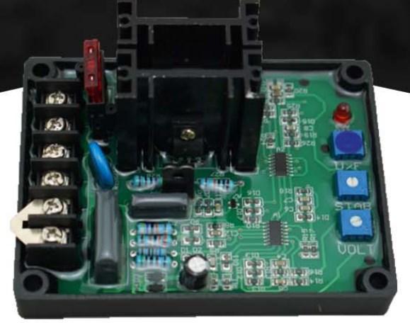 Генератор GAVR1-12A, avr 12A схема, фото 2