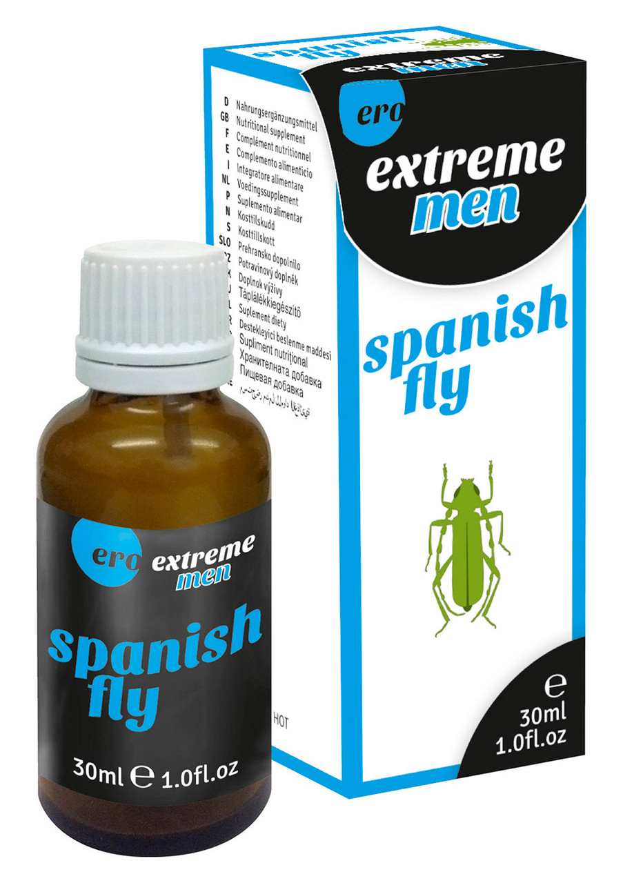 """Возбуждающие капли для мужчин """"Hot Spain Fly Extreme Men"""", 30 мл"""