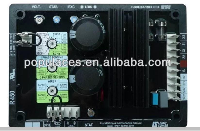 Генератор AVR схема AVR R450