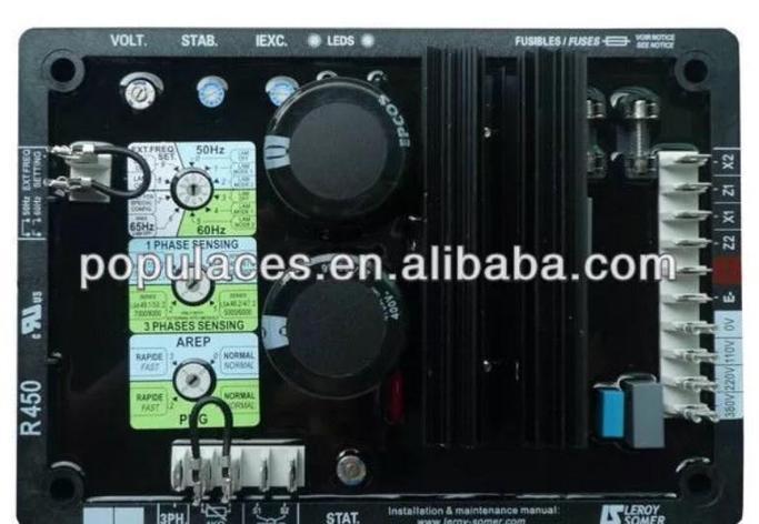 Трехфазный генератор avr R450, фото 2