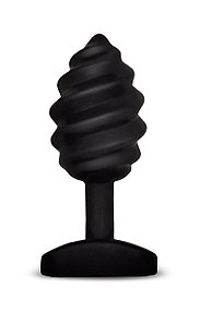 """Витая анальная пробка """"Gplug Twist"""" - Gvibe, 6 режимов вибрации, силикон, 10.5 см"""