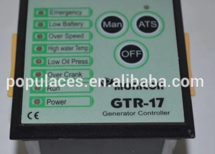 Генераторной установки панели управления GTR-17