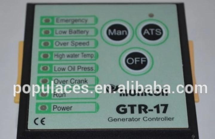 Дизель общего Генератор Модуль контроллера GTR-17