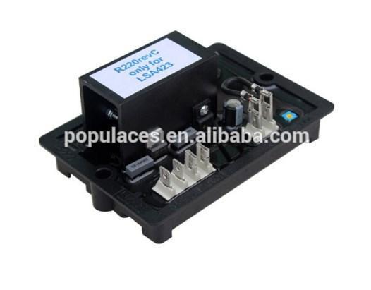 Автоматический регулятор напряжения R220 автоматический регулятор напряжения AVR 100KVA, фото 2