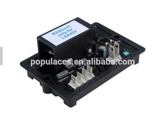 Электрический AVR Gavr R220 регулятор напряжения генератора, фото 2