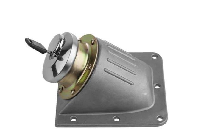 Генератор замок топлива Крышка топливного бака крышка с ключом, фото 2