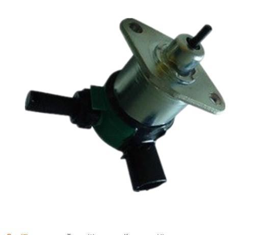 Выключение двигателя электрический 12 В электромагнитный 17208-60016, фото 2