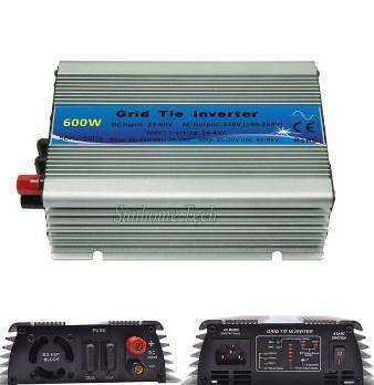 600 Вт микро сетки галстук инвертор для солнечного ветра домашняя система MPPT DC 22-60 В AC 220 В, фото 2