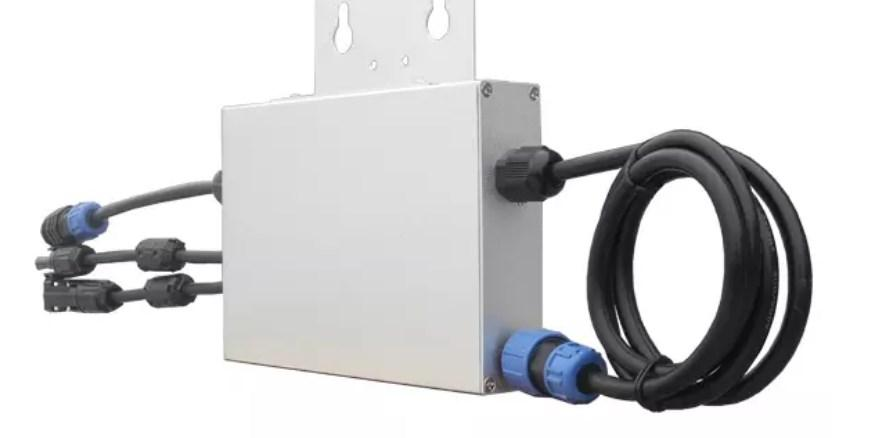На сетке-галстук Солнечный микро инвертор 300 Вт без зарядного устройства для солнечной системы