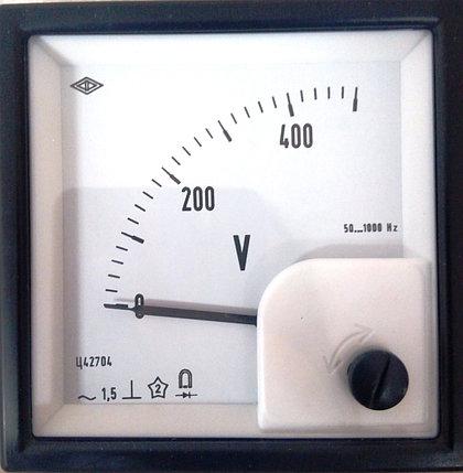 Вольтметр Ц42704 0-500В, фото 2