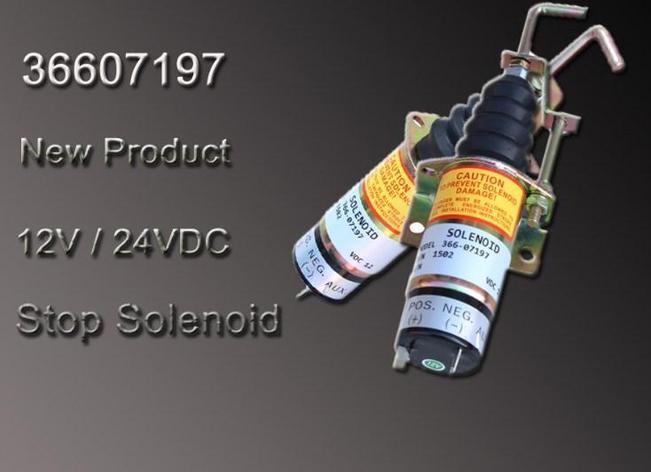 Генератор остановка электромагнитный 36607197 12 В, фото 2