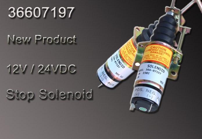 12 В дизельный двигатель топлива остановить электромагнитный клапан 1502 36607197,366-07197
