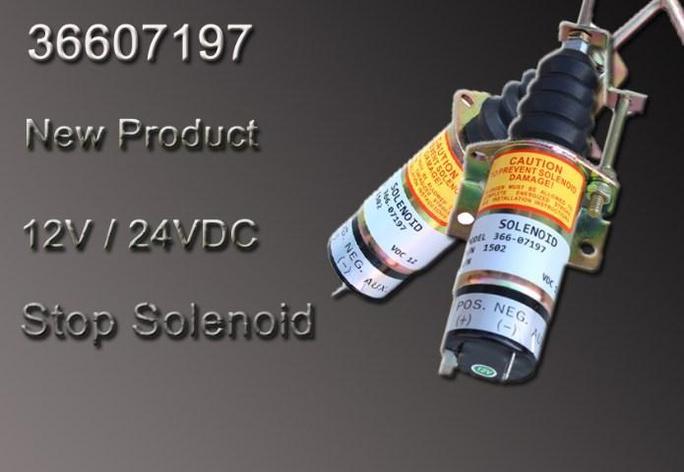 12 В дизельный двигатель топлива остановить электромагнитный клапан 1502 36607197,366-07197, фото 2