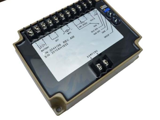 Регулятор скорости модуля 3044196 для генератора