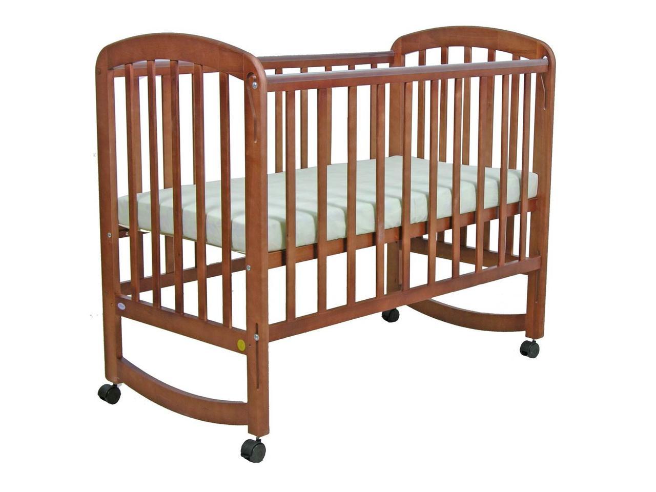 Детская кроватка Фея 304 Орех