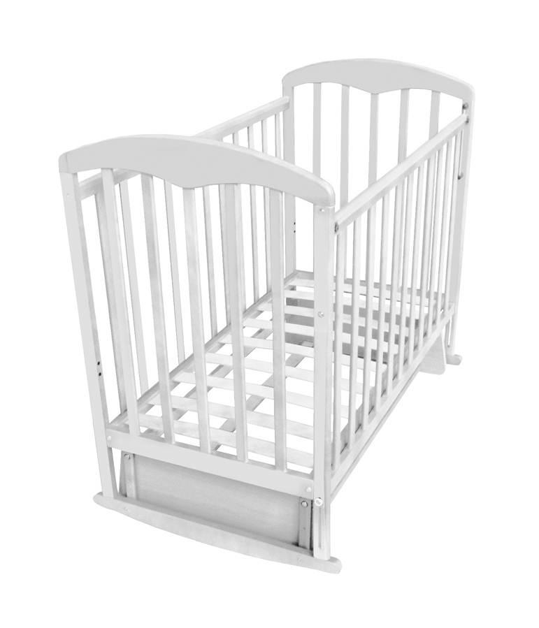 Детская кроватка Фея 324 универсальный маятник Белый