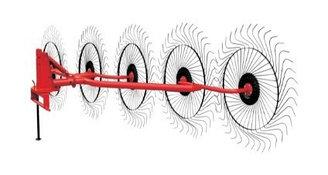 Грабли-ворошилки 5 колес