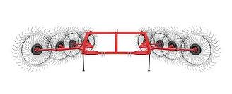 Грабли-ворошилки 8 колес
