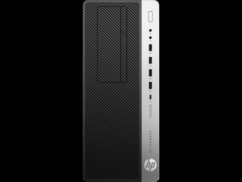 Системный блок HP 4KW72EA EliteDesk 800G4TWR, Platinum, i7-8700, 8GB, 256GB, W10p64, DVD-WR,  3yw, USB kbd, mo