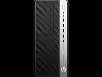Системный блок HP 4KW72EA EliteDesk 800G4TWR, Platinum, i7-8700, 8GB, 256GB, W10p64, DVD-WR,  3yw, USB kbd, mo, фото 1