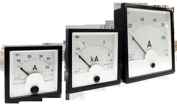Амперметр перегрузочный Э42704 А 200-400/1