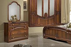 Зеркало в раме как часть комплекта Щара 5, Орех Темный, Форест Деко Групп (Беларусь), фото 2