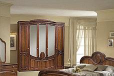 Зеркало в раме как часть комплекта Щара 5, Орех Темный, Форест Деко Групп (Беларусь), фото 3