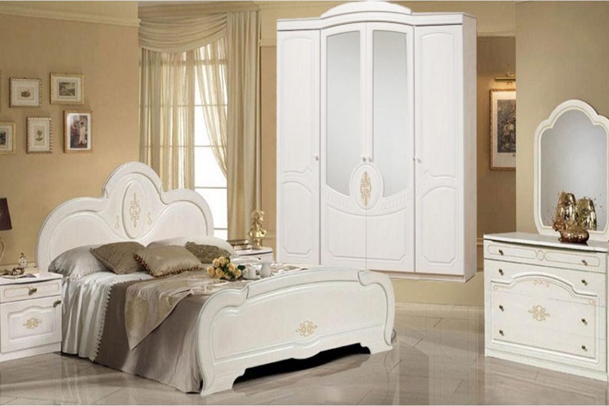 Комплект мебели для спальни Щара 4, Белый, Форест Деко Групп(Беларусь)