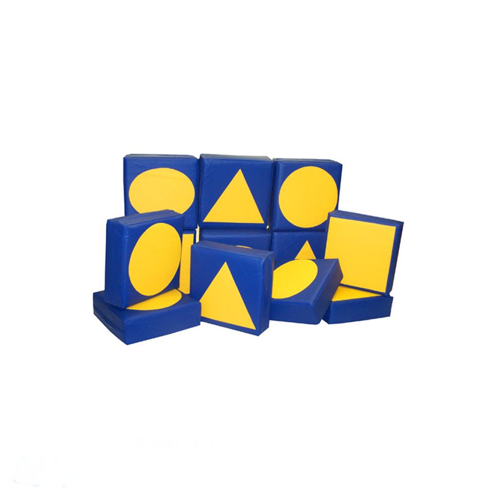 «Набор папок с аппликацией» (геометрические фигуры) игра