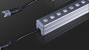 Линейные светодиодные светильники Теплый белый