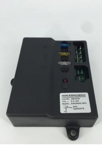 Дизель-генератор части управления двигателем модель DC 12 В EIM одноцветное MK3