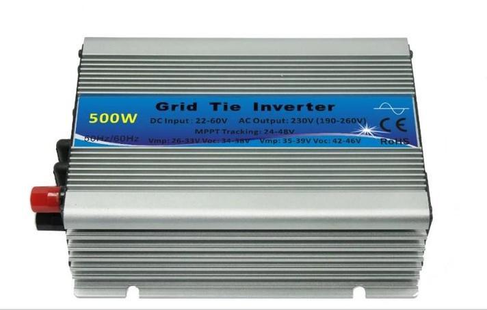 Чистая синусоида сетки на солнечной энергии инвертор 500va DC 12 В AC 220 В 500 Вт, фото 2