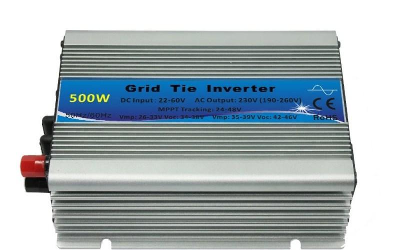 На сетке галстук инвертора 500 Вт 24VDC 50 Гц Micro солнечной энергии.