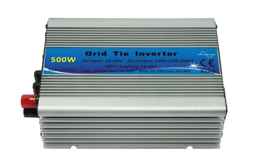 Micro солнечные сетки инвертор 500va для 24 В и 36 В солнечные панели